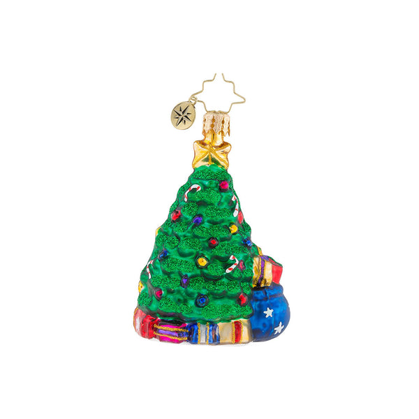 Christopher Radko Baby A Trunkful First Christmas Little Gem Ornament