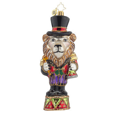 Radko LOUIE THE LION Circus ornament NEW