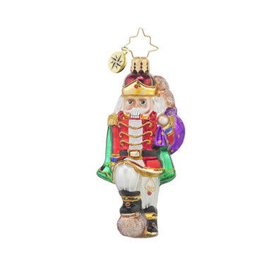 Radko Little Gems MAJOR CRACKER GEM Nutcracker ornament NEW