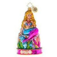 Christopher Radko Mermaid Musings Beach Ornament