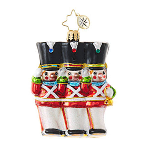 Radko Little Gems MERRY MARCHERS Gem Toy Soldier Ornament NEW 2017