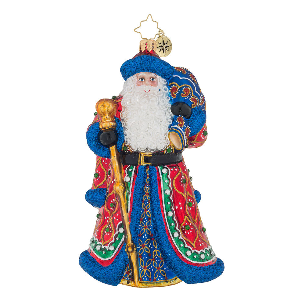 Christopher Radko MOSCOVIAN MAN Santa Christmas Ornament