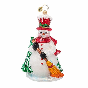 Radko MR MCBROOM Snowman ornament Retired Sale