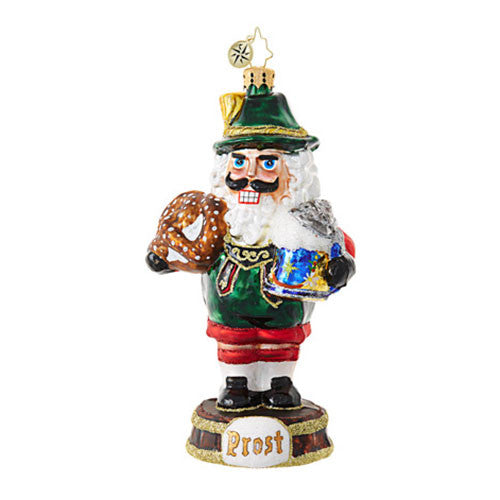 Radko NO CRACKS ABOUT THE LEDERHOSEN Nutcracker Ornament New