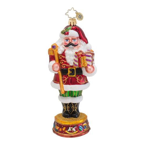 Radko NUTTY NICK Santa Nutcracker ornament NEW