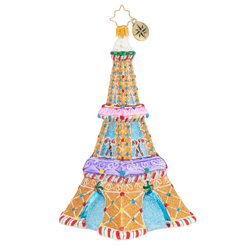 Christopher Radko Paris Is Sweet Eiffel Tower ornament