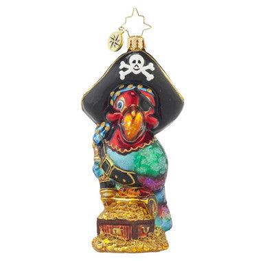 Radko PIRATE POLLY Parrot Bird Ornament NEW 2015