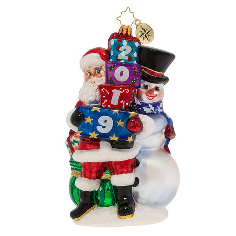 Christopher Radko 2019 Dated Winter Friends Ornament