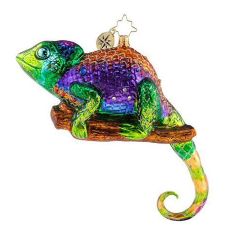 Christopher Radko A Colorful Personality Cameleon Ornament (PRE-ORDER)