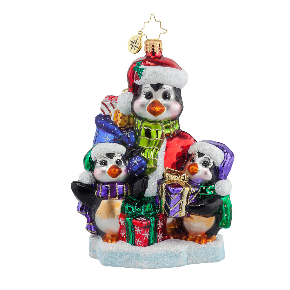 Radko A GIFT FOR EVERYONE Penguin Ornament *