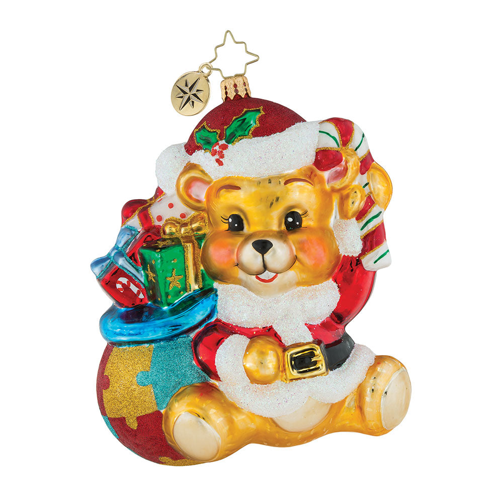 Christopher Radko A Gifted Perspective Autism Bear Ornament 2018
