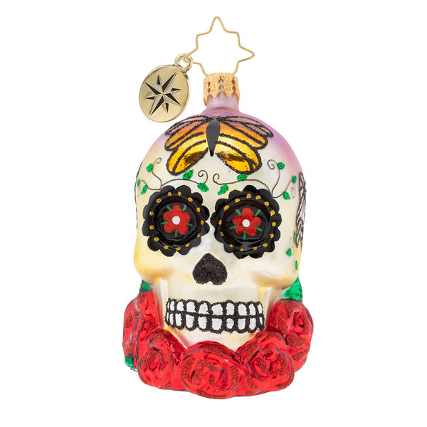 Christopher Radko A Head For Details Gem Skull Ornament