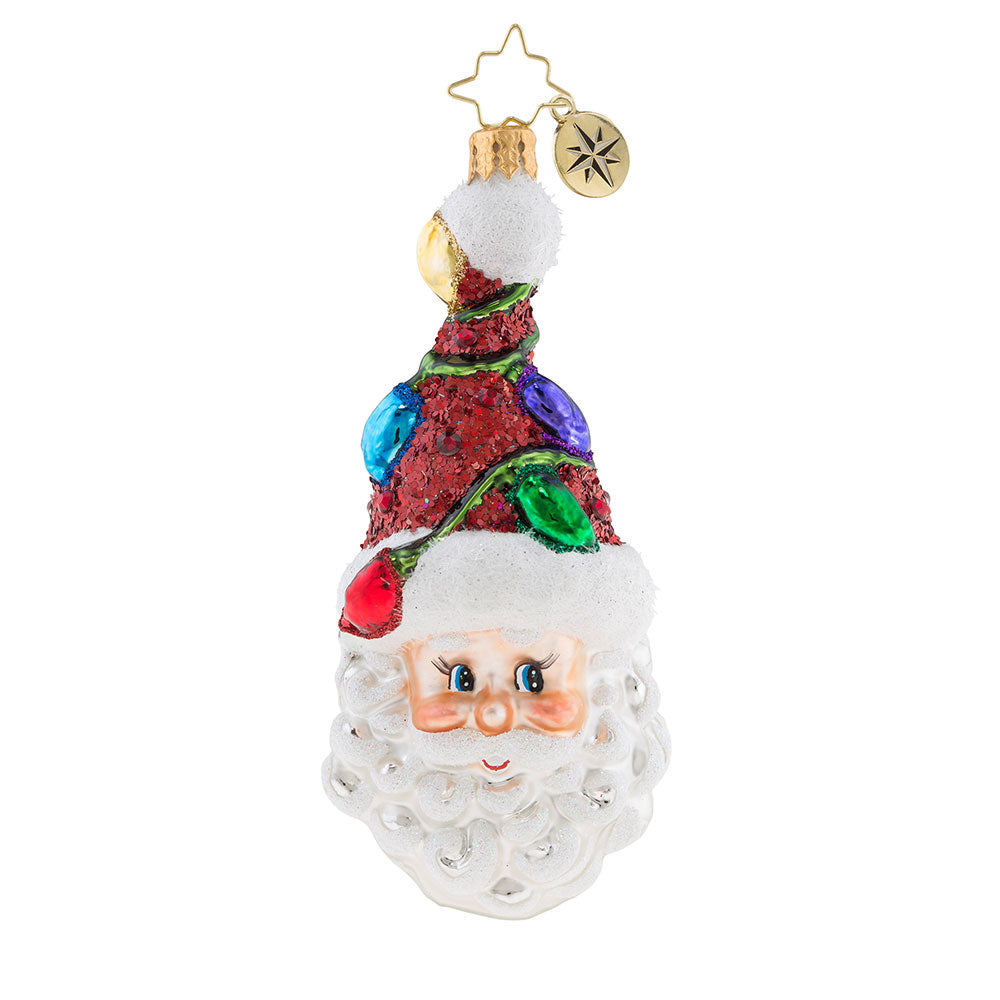 Christopher Radko A Light Bulb Moment Santa Ornament