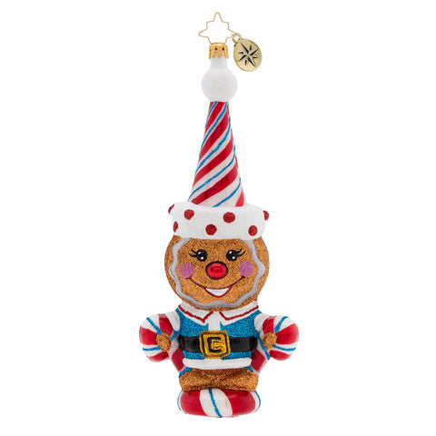 Christopher Radko A Sweet Treat The Candy Man Ornament