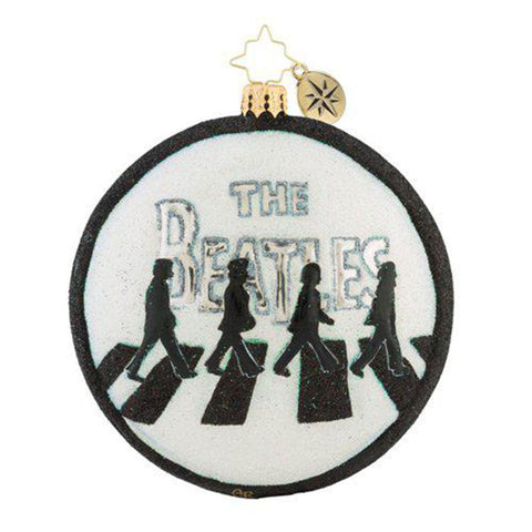 Christopher Radko the Beatles Abbey Road Christmas Ornament