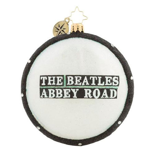 Christopher Radko  the Beatles Abbey Road Christmas Ornament New 2018