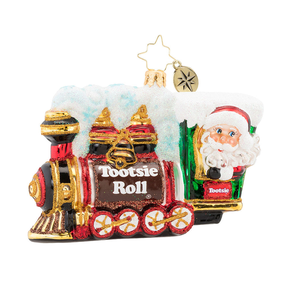 Christopher Radko All Aboard the Tootsie Express! Train Ornament