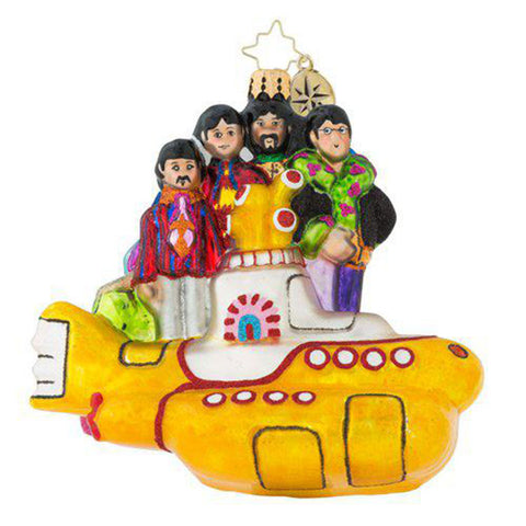 Christopher Radko The Beatles All Together Now! LOVE Ornament