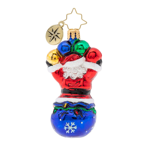 Christopher Radko Amazing 2019! Dated Santa Gem Ornament
