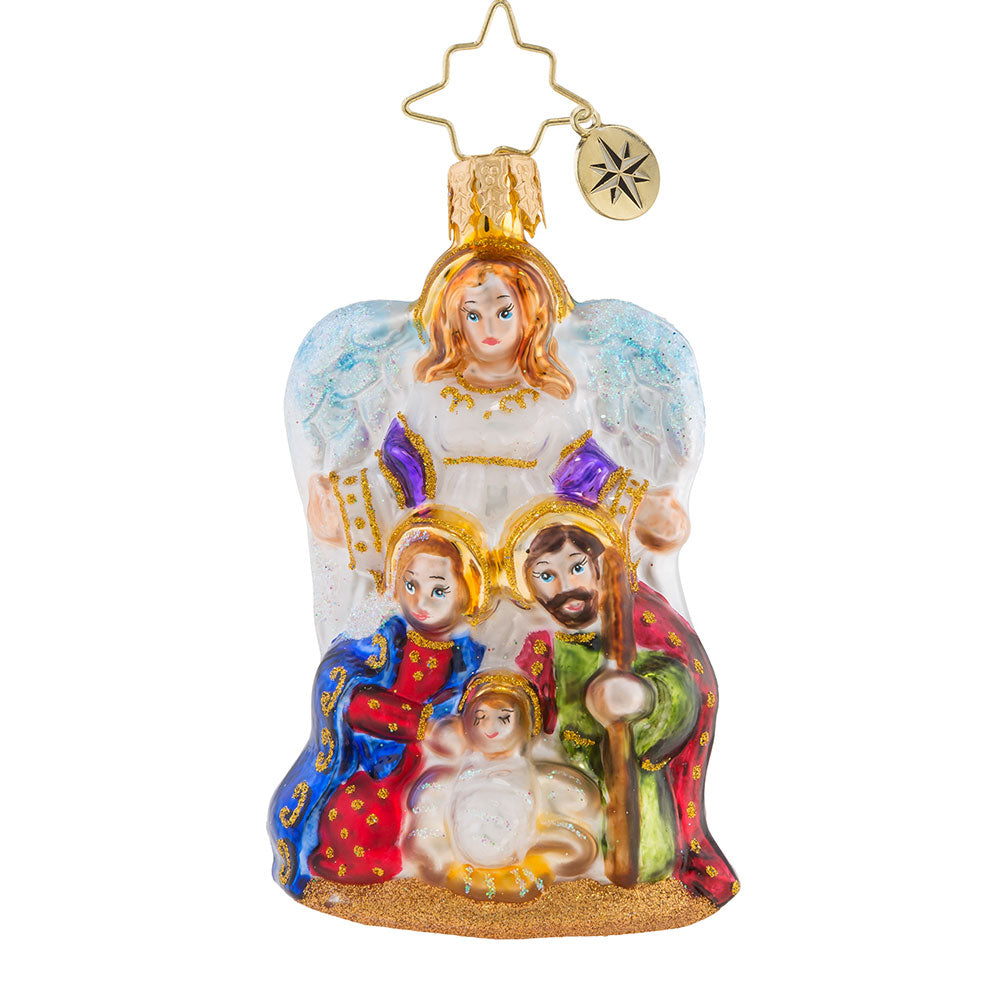 Christopher Radko Angel We Have Heard Little Gem Ornament New 2018