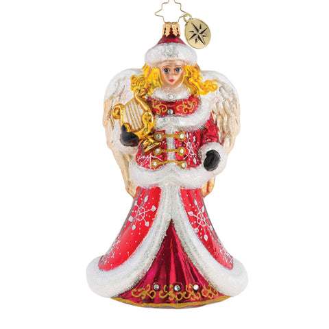 Christopher Radko Angelic Christmas Muse Angel Ornament