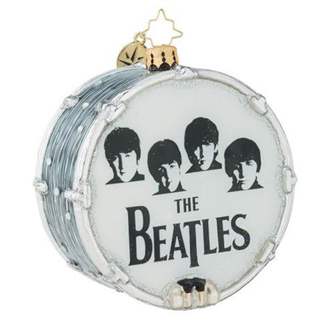 Christopher Radko  the Beatles Beat-le Mania Ornament