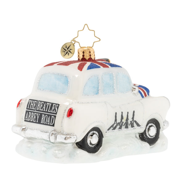 Christopher Radko the Beatles A Ride Down Abbey Road Car Ornament