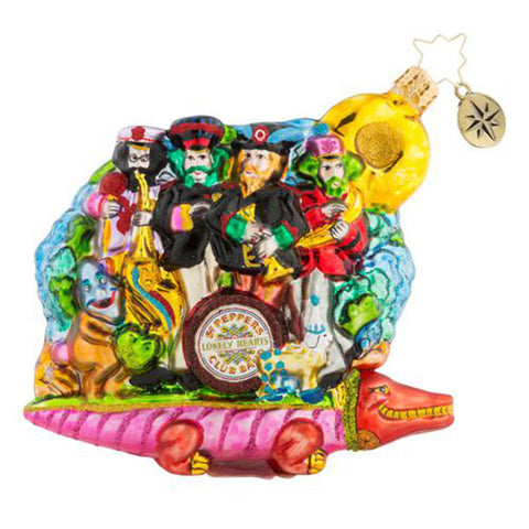 Christopher Radko the Beatles Yellow Submarine 50th Ornament