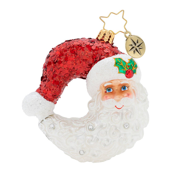 Christopher Radko Bella Luna Gem Santa Moon Ornament