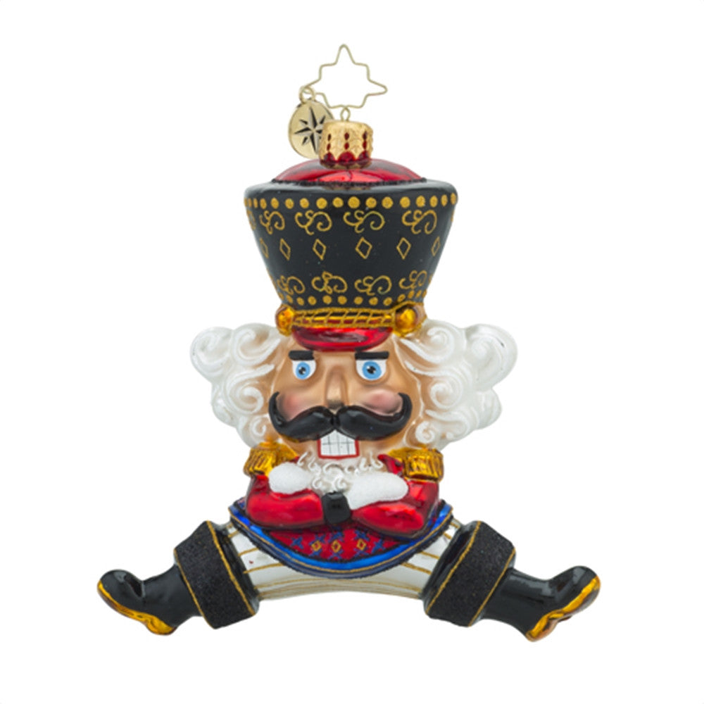 Christopher Radko Bolshoi Guard Russian Dance Nutcracker Ornament