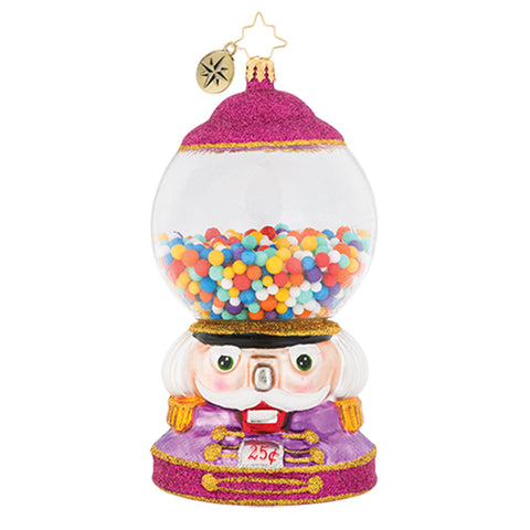 Christopher Radko Bubble Gum Chum Machine Ornament