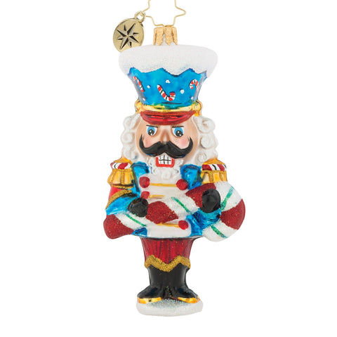 Christopher Radko Candy Cane Caper Nutcracker
