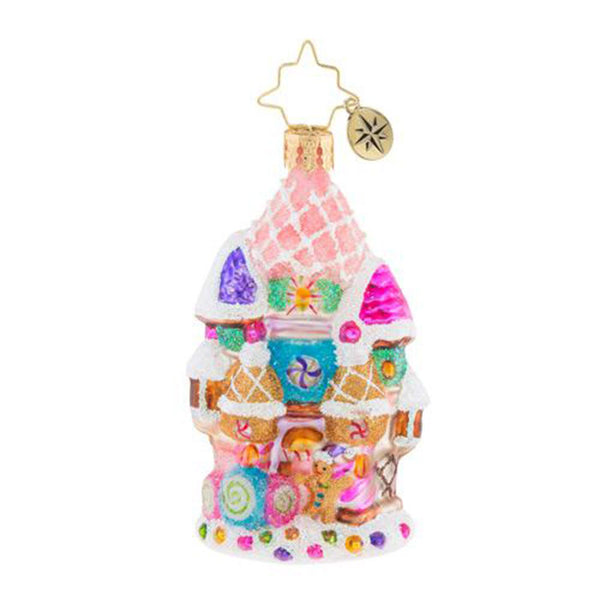 Christopher Radko Candy Castle Christmas Little Gem Ornament
