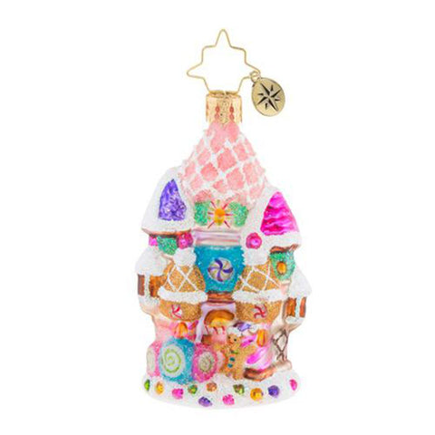 Christopher Radko Candy Castle Christmas Little Gem (PRE-ORDER)