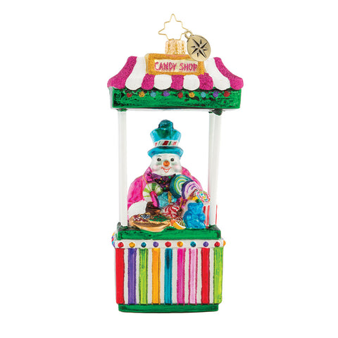 Christopher Radko Candy Man Fan Ornament