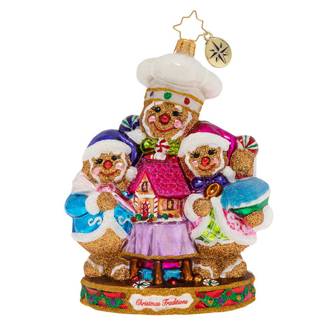 Christopher Radko Confection Perfection Family Ornament