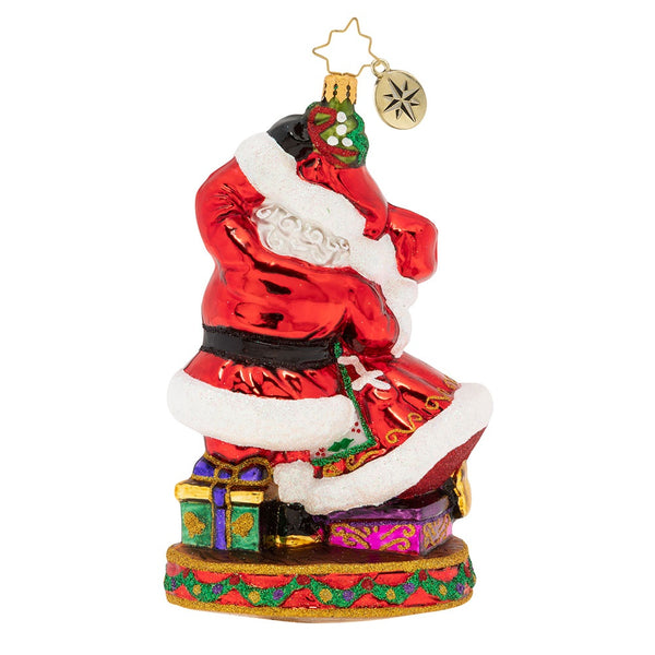 Christopher Radko Dance The Night Away Couple Santa and Mrs Ornament