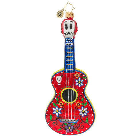 Christopher Radko Dia De Los Muertos Guitar Ornament