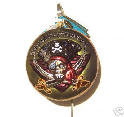 Radko DISNEY PIRATES OF THE CARIBBEAN Ornament Limited 1967