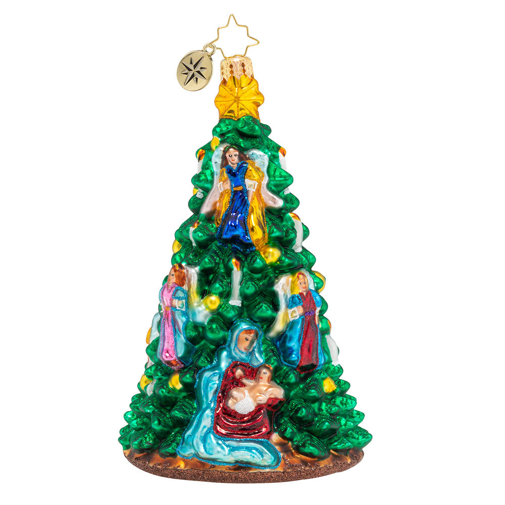 Christopher Radko Divinity Tree Nativity Ornament