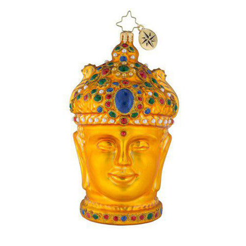 Christopher Radko En-Chanting Enchanting Buddha Ornament