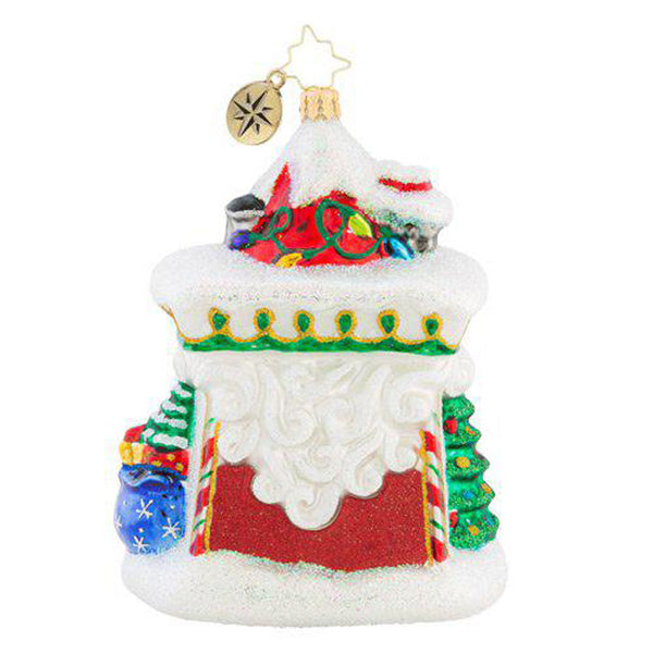 Christopher Radko Facing Work Head-On Fun House Ornament New 2018