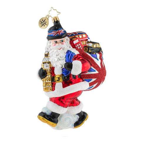 Christopher Radko Father Christmas Does London Ornament