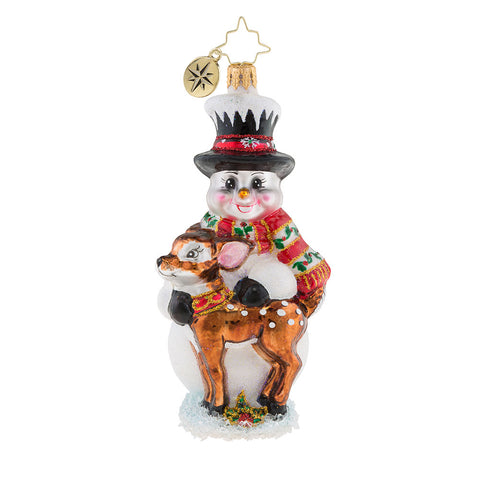 Christopher Radko Fawned Of Each Other Friends Ornament