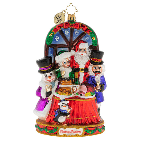 Christopher Radko Feast For All Family Ornament