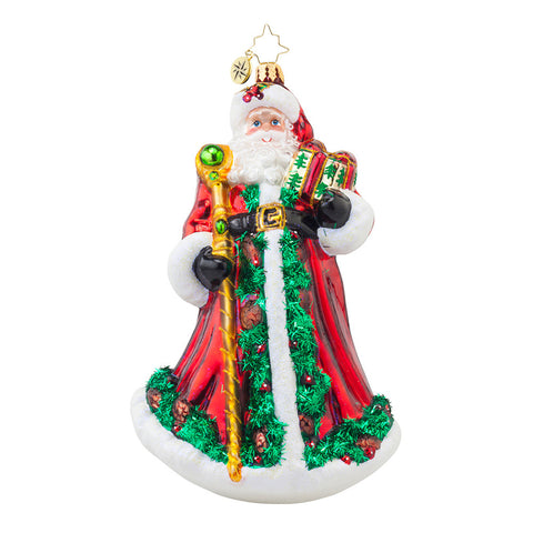 Radko FOREST WANDERER Santa Father Christmas ornament NEW