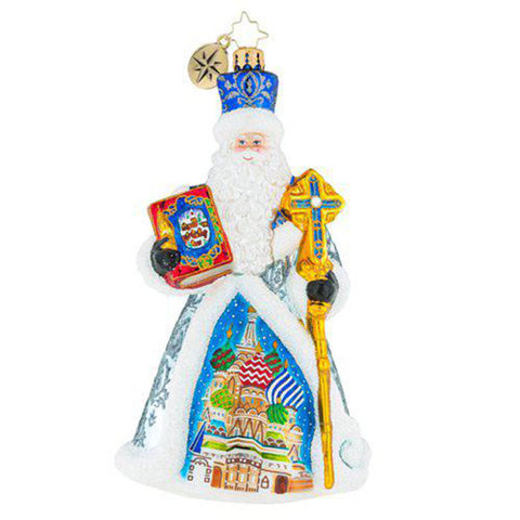 Christopher Radko From Russian With Love Father Christmas Ornament (PRE-ORDER)