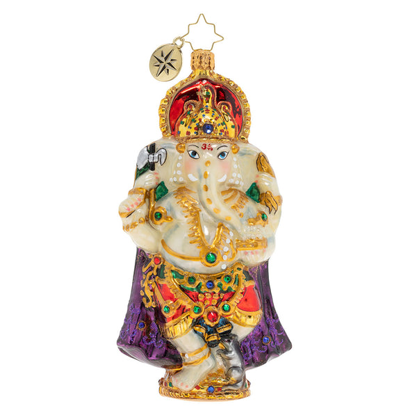 Christopher Radko Ganesh Celebration Hindu God Ornament