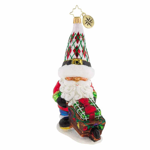Christopher Radko Gnome Matter What Ornament NEW 2018
