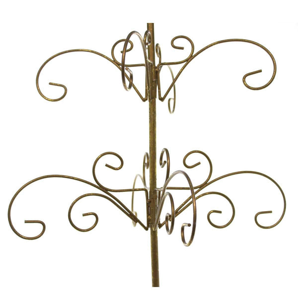 Christopher Radko GOLD METAL SCROLL TREE Display Holder